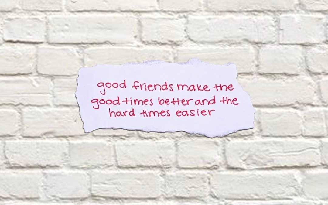 GOOD Friendships - featured image