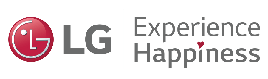 LG Experience Happiness Dark Grey Logo