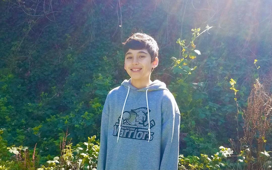 May 2021 Student of the Month: Washington Student Leader Kaleb
