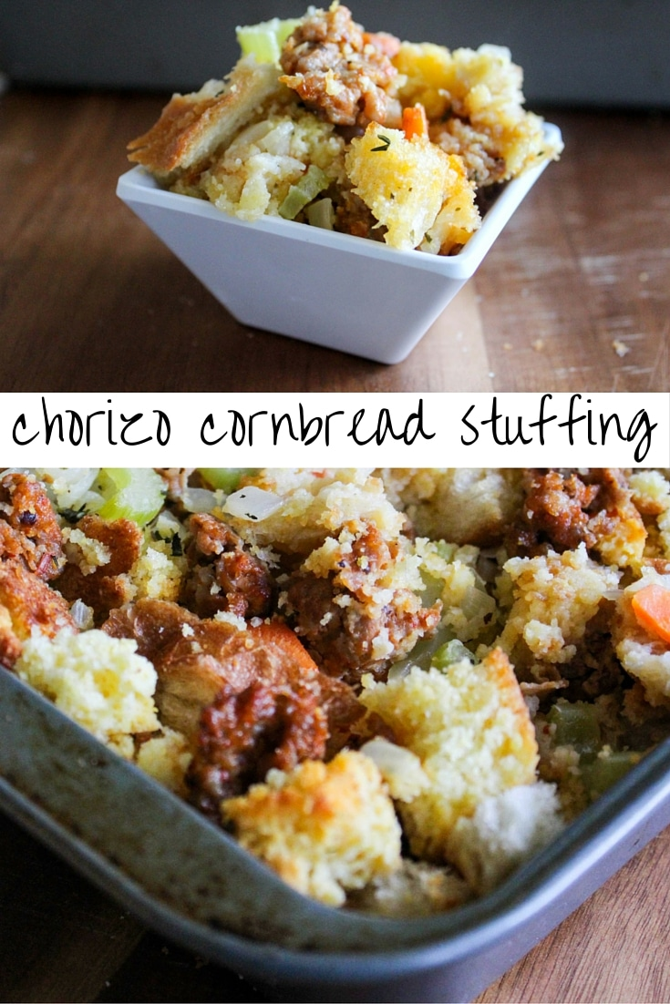 Chorizo Cornbread Stuffing | What Molly Made