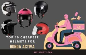 Helmet for Honda Activa