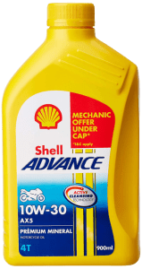 Shell Advance AX5 10W 30 Engine oil