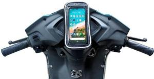 JETLIFE Mobile Holder Mount Pouch Bag for Activa Scooters