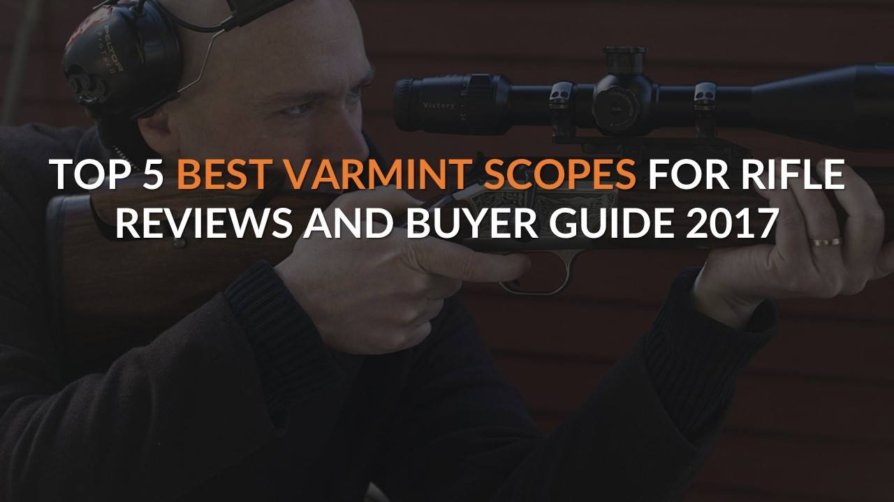 Top 5 Best Varmint Scope For Rifle – Reviews and Buyer Guide 2017-2018