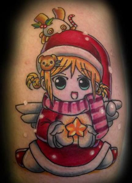 Baby Christmas Arm Tattoo Ideas Free HD Wallpapers Images