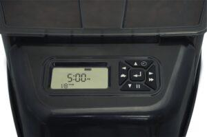 PetSafe auto feeder control panel