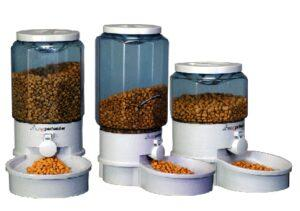 small medium large sizes of Ergo Auto Pet Feeder