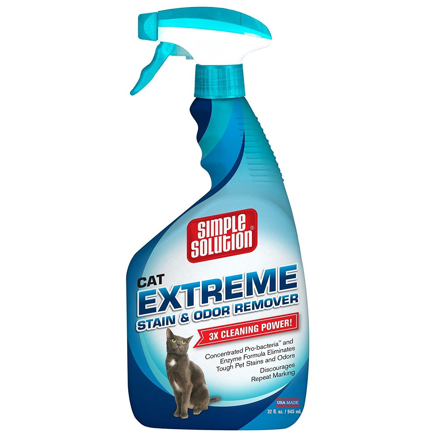 enzyme cleaner for cat spraying