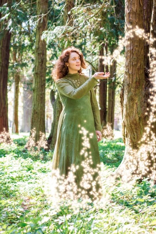 Mystic Celtic Goddess
