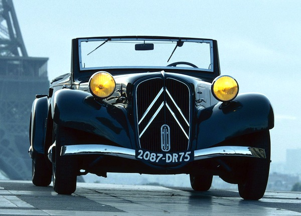 Citroen Traction Avant Cabrio France 1946
