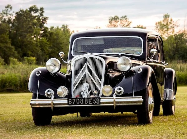 Citroen Traction Avant France 1938