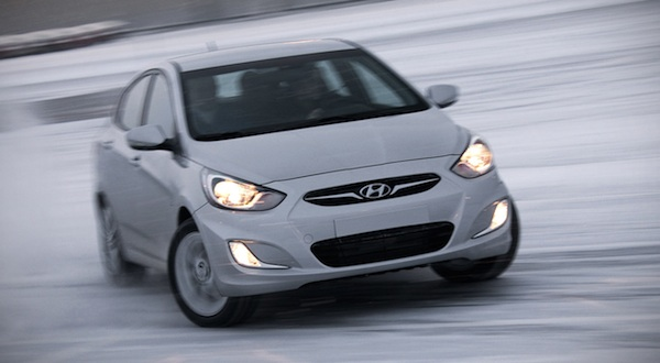 Hyundai Accent Ukraine 2013