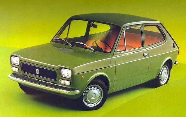 Fiat 127 Europe 1973