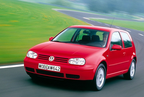 World 2000 Vw Golf In Pole Position Best Selling Cars Blog