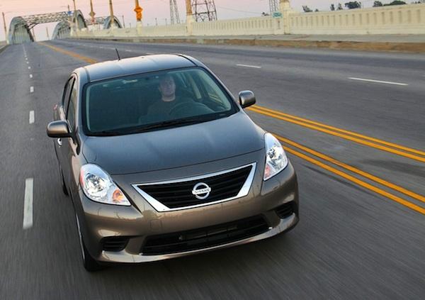 Nissan Versa Mexico June 2014