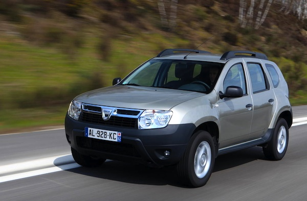 france november 2011 dacia duster beats records updated best selling cars blog. Black Bedroom Furniture Sets. Home Design Ideas