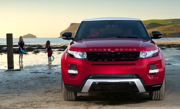 Range Rover Evoque Cyprus 2014