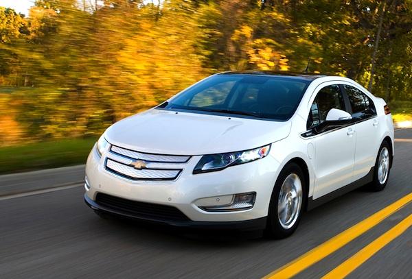 Chevrolet Volt USA February 2013