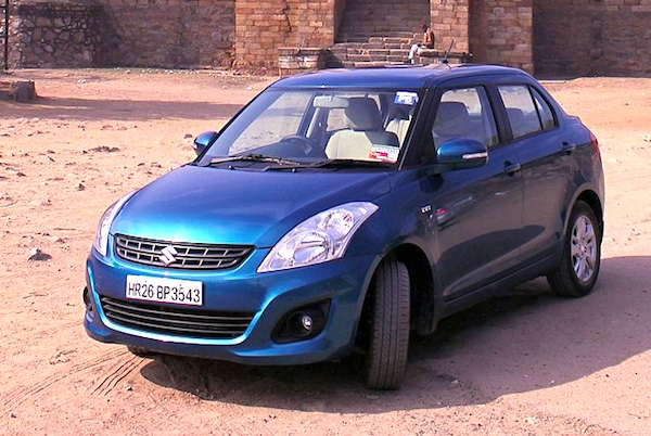 Maruti DZire India October 2015