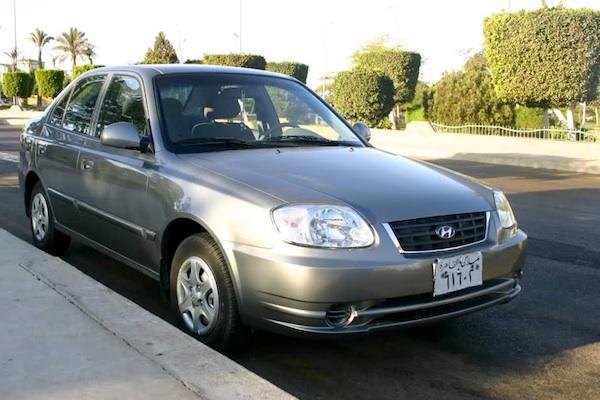 Hyundai Verna Egypt March 2012