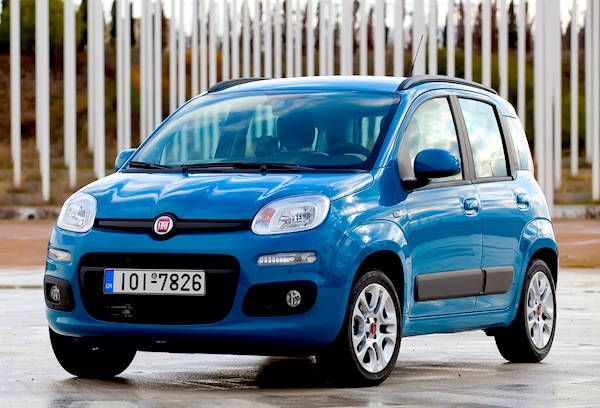 Fiat Panda Europe February 2014
