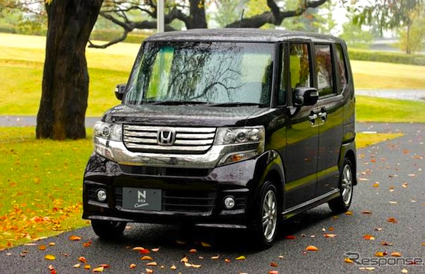 Honda NBOX Custom Japan 2013