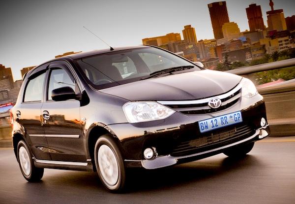 Toyota Etios South Africa November 2013