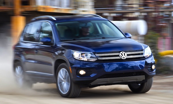 VW Tiguan Canada February 2014. Picture courtesy of motortrend.com
