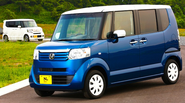 Japan Kei cars July 2012: Honda NBOX & Toyota Pixis Space
