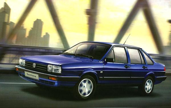 2012 VW Santana China September 2012