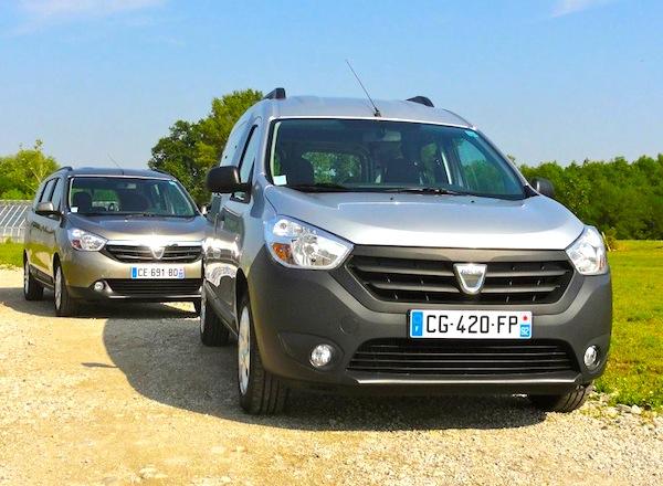 Dacia Dokker Lodgy Bulgaria February 2015