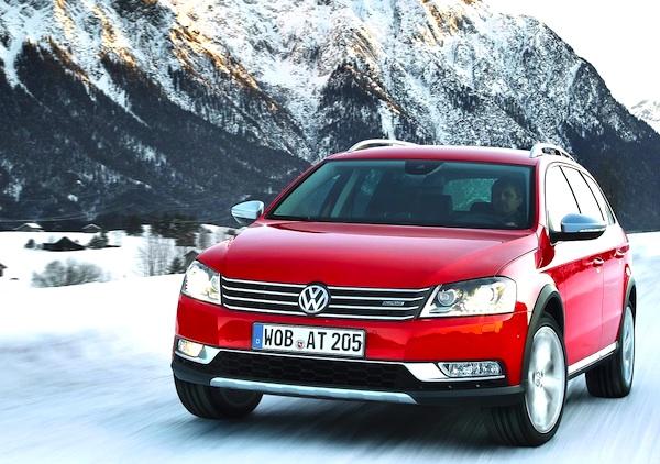VW Passat Sweden August 2013
