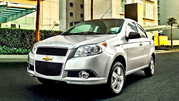 Chevrolet Aveo Mexico 2013