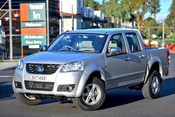 Great Wall V200 Australia October 2012