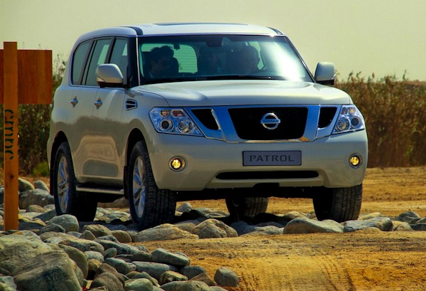 Nissan Patrol Kuwait March 2013