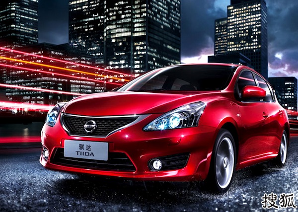 Nissan Tiida World 2012