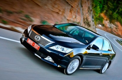 Toyota Camry. Picture courtesy of Toyota Russia