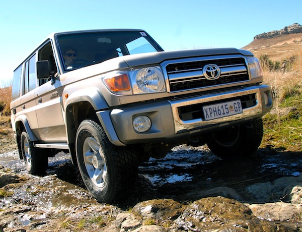 Toyota Land Cruiser Kenya 2014