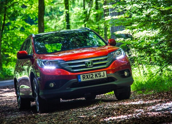 Honda CR-V Estonia May 2014