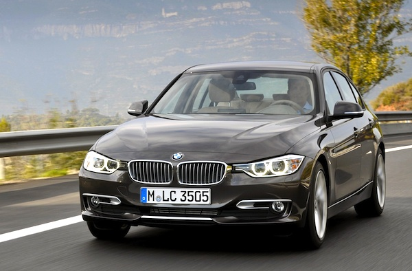 BMW 3 Series Belgium February 2013