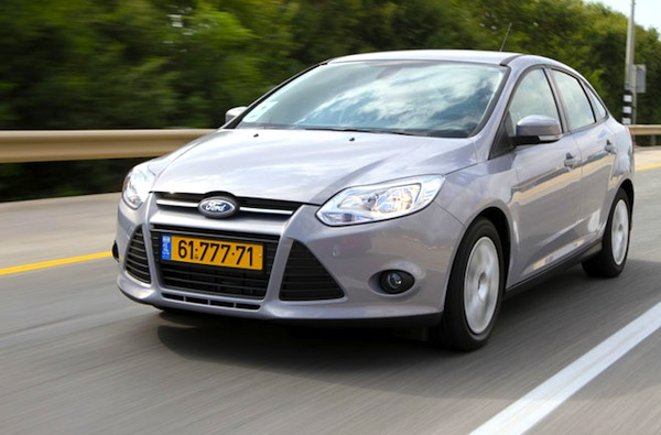 Ford Focus Israel March 2014