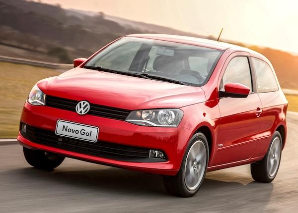 VW Gol Argentina February 2014