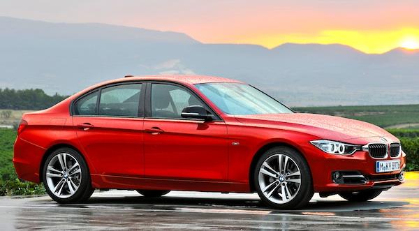 BMW 3 Series Belgium 2013
