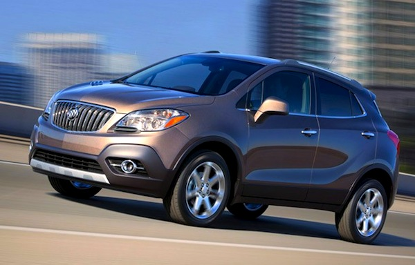 Buick Encore USA January 2013
