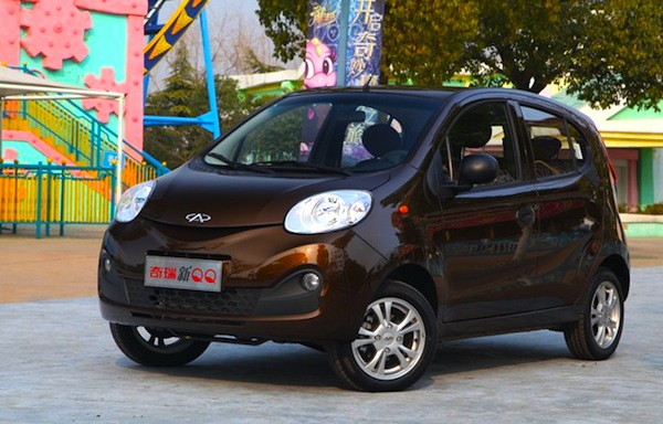 Chery QQ China January 2013. Picture courtesy of www.yiche.com through www.autoweek.nl