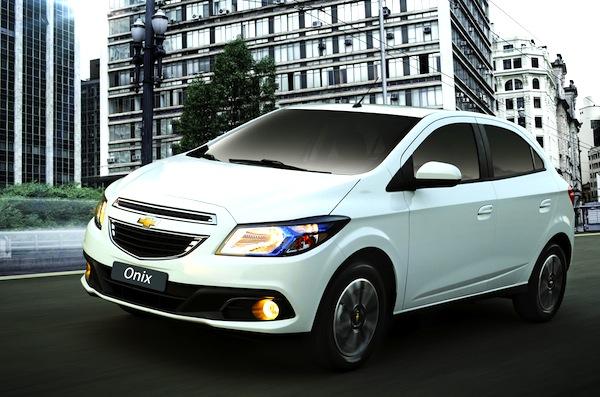 Brazil January 2013 Chevrolet Onix Breaks Into Top 5 Best Selling