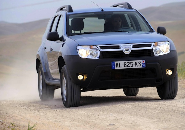 Dacia Duster Morocco 2012