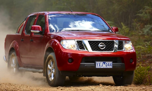 Nissan Navara Australia January 2013