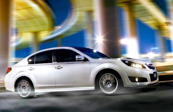 Subaru Legacy Estonia January 2013