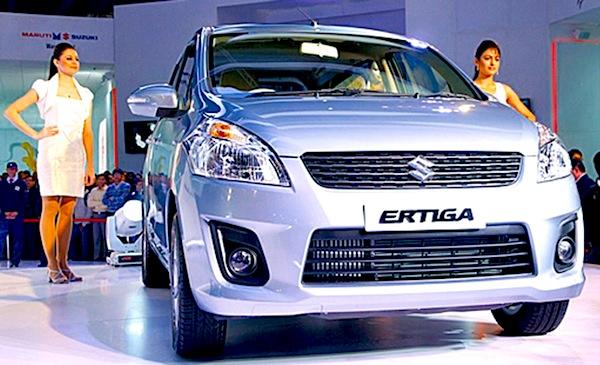 Suzuki Ertiga Indonesia January 2013